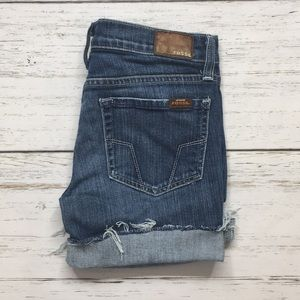 Fossil Cuttoff Jean Shorts